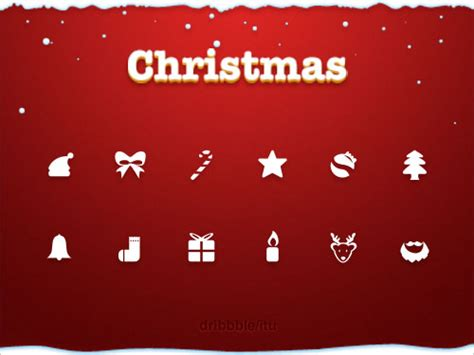 33 best free christmas icons vectors psd greeting