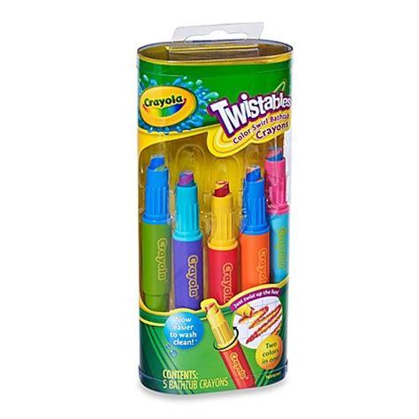 crayola bathroom decor crayola 174 play visions twistables 5 pack color swirl