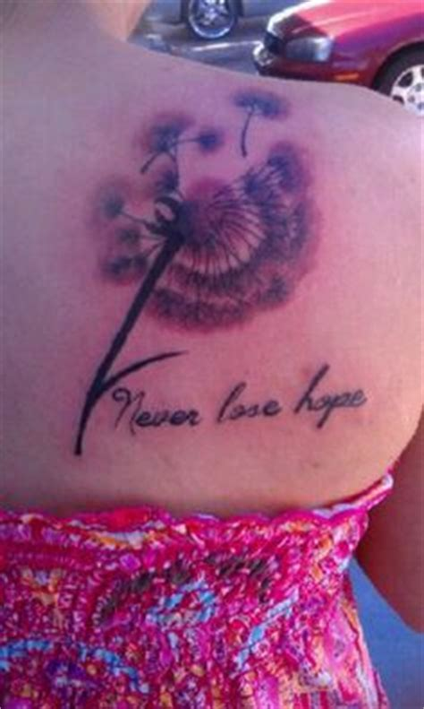 never lose hope tattoo 171 never lose 187 tattoos never lose