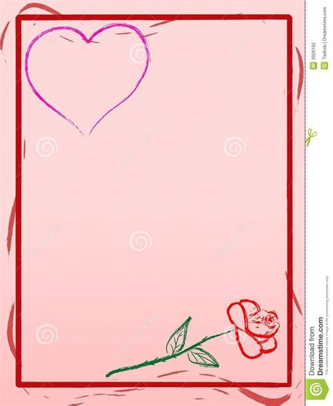 Love Letter Background Template Theveliger Letter Background Template