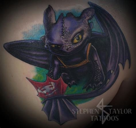 toothless tattoo toothless by stephen tattoos