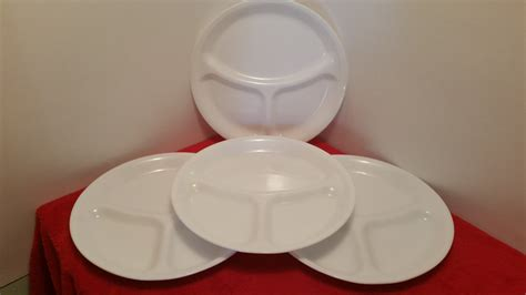 corelle sectional plates corelle large divided dinner plates set of 4 by corning
