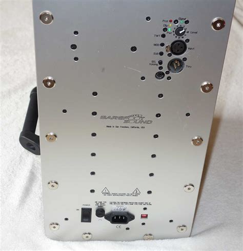 Mm 221 Bm barefoot sound micromain 27 mm27 studio nearfield mastering monitors