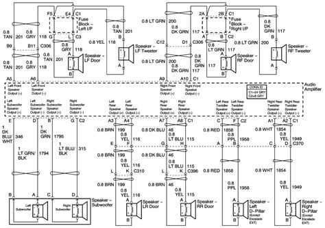 2003 cadillac cts stereo wiring diagram the knownledge
