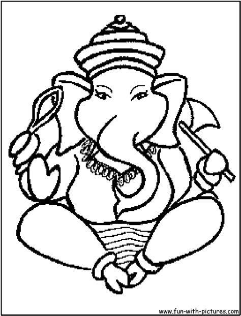 hindu coloring sheet coloring pages