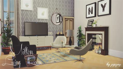 sims 3 living room sets my sims 4 milton living room set by pyszny