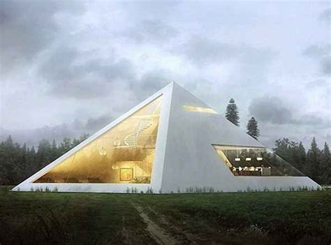 future houses design design of the future architect imagines amazing pyramid house good news network