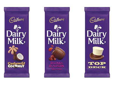 product layout of cadbury cadbury dairy milk chocolate packaging gets new look