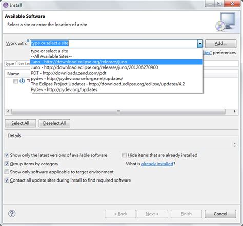 install theme eclipse juno falldog的程式戰場 php debug php by eclipse with pdt plugin
