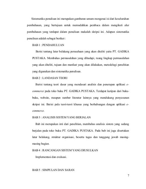 format draft skripsi contoh proposal skripsi