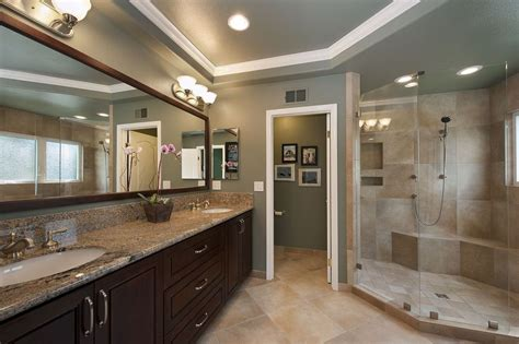 master bathrooms designs great contemporary master bathroom zillow digs