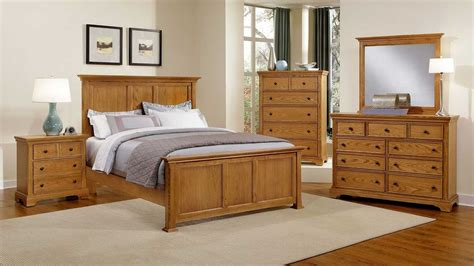 oak king bedroom set honey oak bedroom furniture brown reddish oak varnished