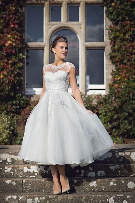 Length Wedding Dresses by House Of Nicholas 2026 High Neck T Length Wedding Dress