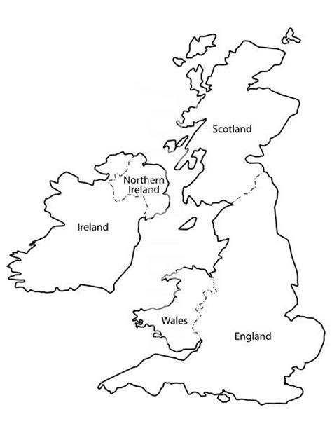 template of uk map best photos of outline map of map outline uk and ireland map outline and