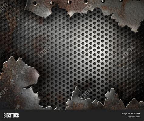 Large Plate 31 900 Per Pcs metal grunge background image photo bigstock