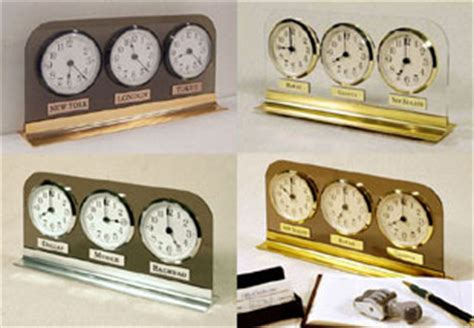 Multi Time Zone Desk Clock by Time Zone Clocks World Time Zone Clocks For Sale