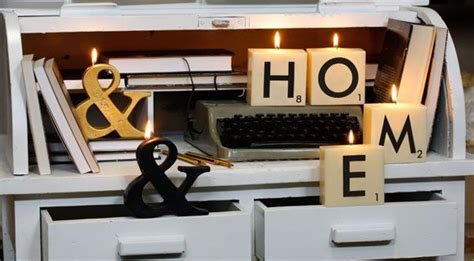 scrabble letter candles 1000 images about candles for home decor on