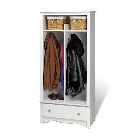 entryway organizer prepac white entryway organizer the home depot canada