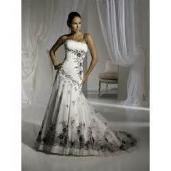gothic black and white wedding dresses dresses trend