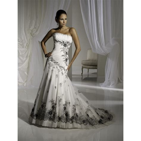 Black And White Wedding Dresses by Black And White Wedding Dresses Dresses Trend