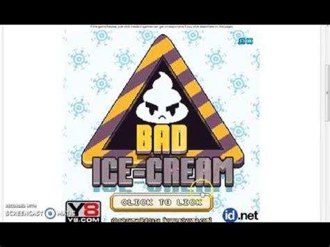 BAD Ice-cream (y8 game) - YouTube Y8 Bad Ice Cream 2 Player