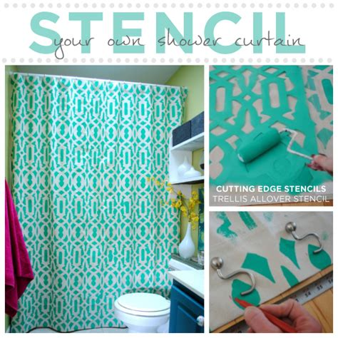 diy bathroom paint ideas hometalk diy shower curtain ideas refreshrestyle d s clipboard on hometalk