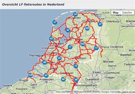 holten netherlands map fietsroute knooppunten