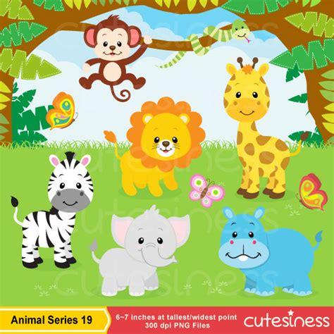 safari jungle baby animal clip art jungle animal clipart safari clipart safari clip art