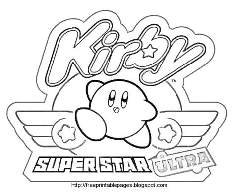 kirby yarn coloring pages coloring cabin kirby coloring pages of nintendo kirby
