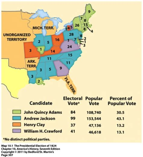 1832 election map image gallery election of 1832