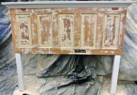 panel  door headboard    king size bed