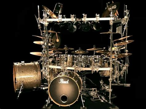Fascinations Metal Earth Rock Band Drum Set 188 best images about drums and percussion on