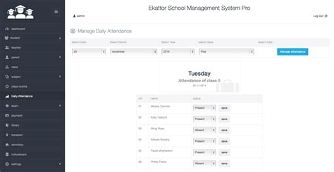 ekattor school management system pro by creativeitem