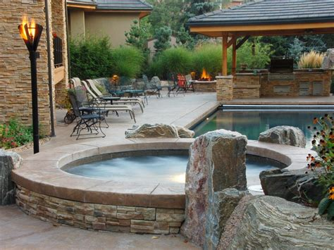 Outdoor Spas And Tubs Tubs And Spas Outdoor Spaces Patio Ideas