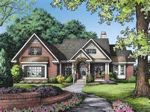 one story brick ranch house plans arts one story ranch house plans one story house plans single