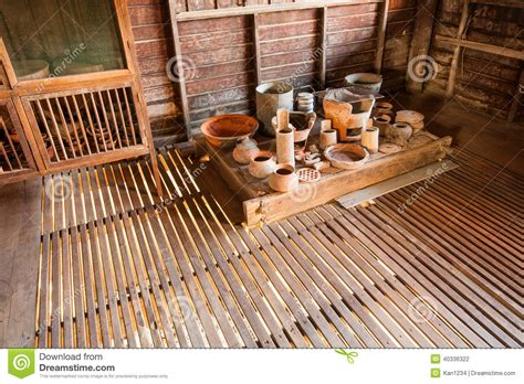 traditional thai kitchen and equipment stock photo image 40336322