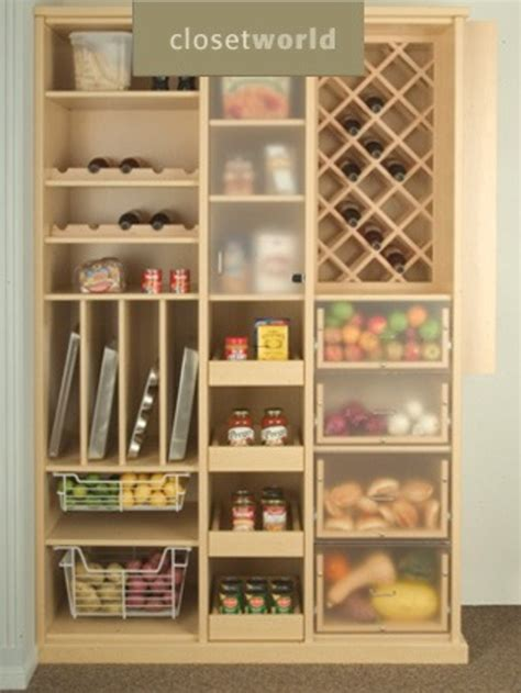 Cabinet Food Pantry Minimalist Kitchen Ideas With Wooden Laminate Free