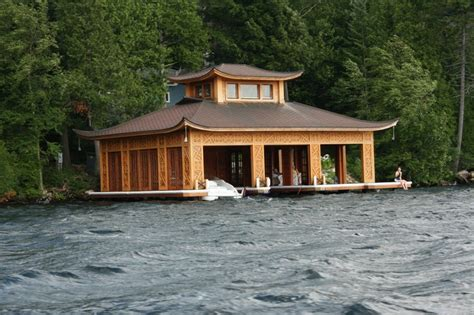 boat house lake placid asian style boat house lake placid ny boathouses boats etc