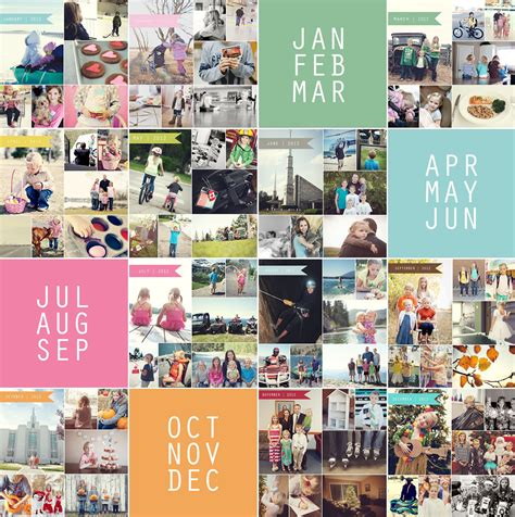 Free Photo Collage Templates From Simple As That Easy Photo Collage Template