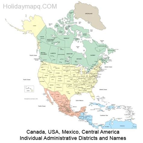 canada usa map states and provinces canada and usa map map q holidaymapq