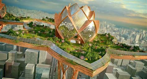 futuristische architektur wie stellen wir uns die