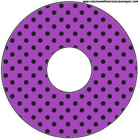 printable stickers for cds black polka dots in purple free printable candy bar