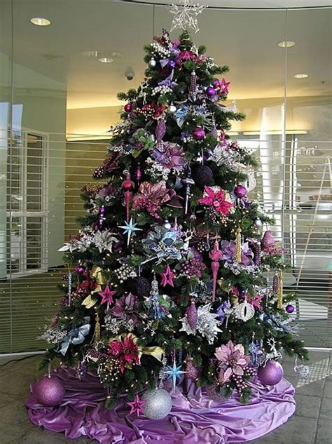 purple and tree decorations pink and purple decorations designcorner