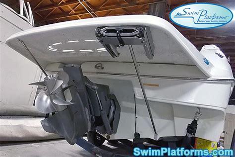 mariah boat swim platform swimplatforms
