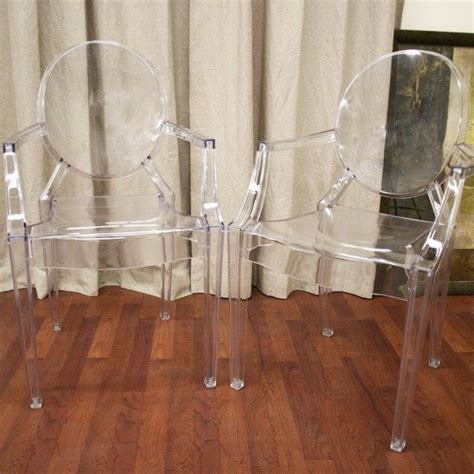 Acrylic Ghost Chair by Chairs Make Clear Space Look With Stylish Acrylic Chairs