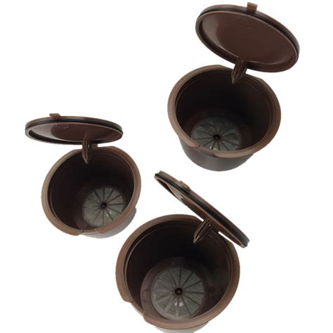Refillable Capsule For Nescafe Dolce Gusto 3pcs 3pcs pack use 150 times refillable dolce gusto coffee capsule nescafe dolce gusto reusable