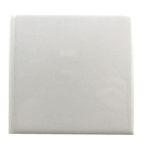 Kitchen Countertops Options Ideas daltile semi gloss white 6 in x 6 in ceramic bullnose