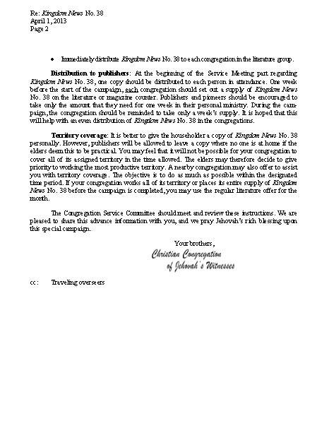hildebrando y otras hierbas nuestro ministerio del reino junio de hildebrando y otras hierbas carta 1 4 2013 noticias del