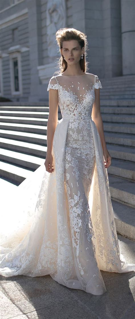 50 Beautiful Lace Wedding Dresses To Die For   Deer Pearl