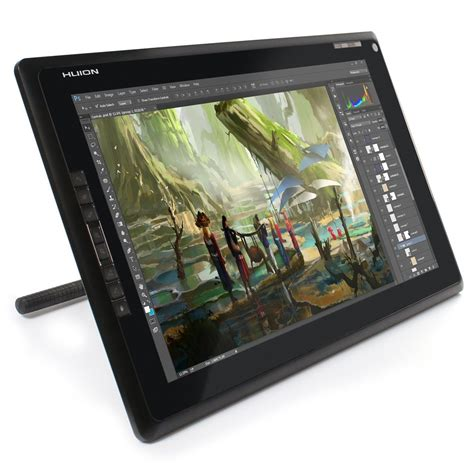 Tablet Drawing huion gt 185 graphics drawing tablet monitor with express
